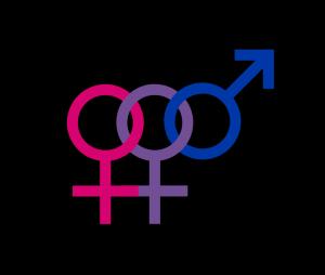 Female bisexual symbol